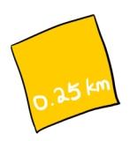 0.25km
