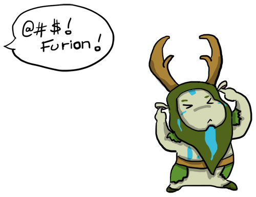 Furion doesn't care