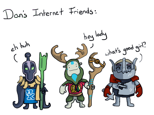 Dan's Internet Friends