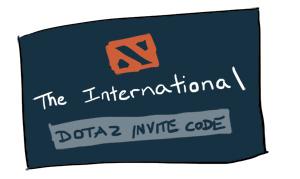 DOTA 2 invite