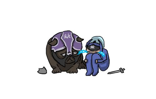 Luna sad