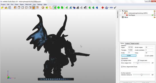 3D Printing Support with Adobe Photoshop CC | Caret Dash Caret