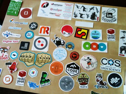 Con Stickers