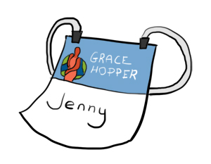 Grace Hopper badge
