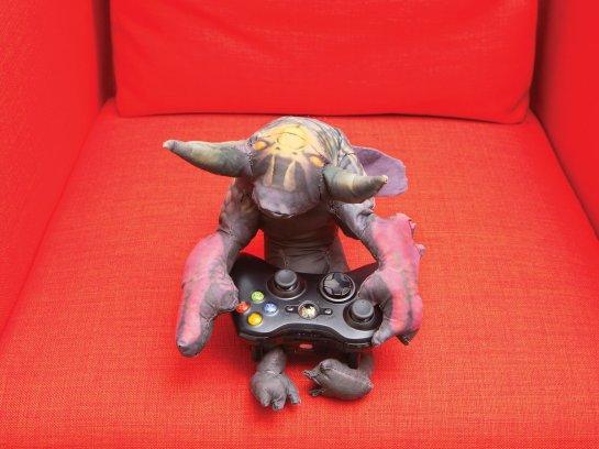 video game plushie