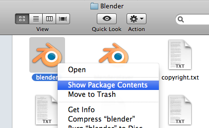 Blender package