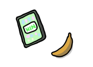airport banana