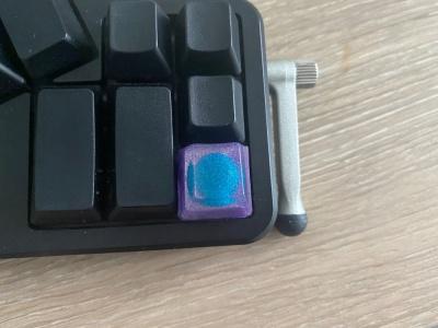 purple keycap
